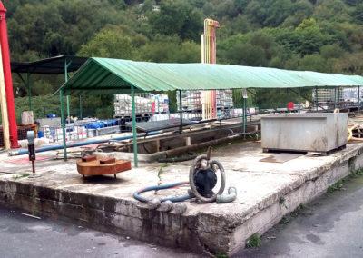 Análisis y Proyecto para la cimentación del área de almacenamiento de materias primas en una industria de pinturas