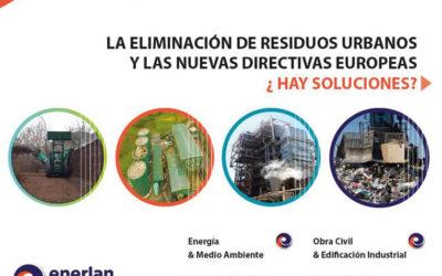 Jornadas sobre eliminación de residuos urbanos y directivas europeas, 28 de noviembre Palacio Euskalduna