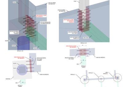 Proyecto de Ejecución para la cimentación de una nueva Torre de Refrigeración en las instalaciones de Oxigeno del Norte en Barakaldo