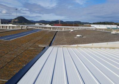 Asistencia técnica para el análisis de las cubiertas de las naves en los centros de producción del Grupo Consorcio en Santoña y Colindres (Cantabria)