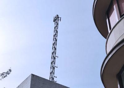 Asistencia técnica para la realización del Proyecto de ejecución de nuevo mástil de comunicaciones en la comisaría de la Ertzaintza en Bergara (Gipuzkoa)